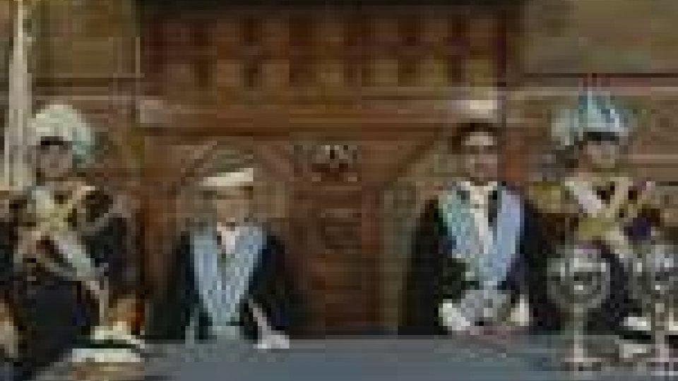 San Marino: insediati i Capitani Reggenti Berti - Tamagnini