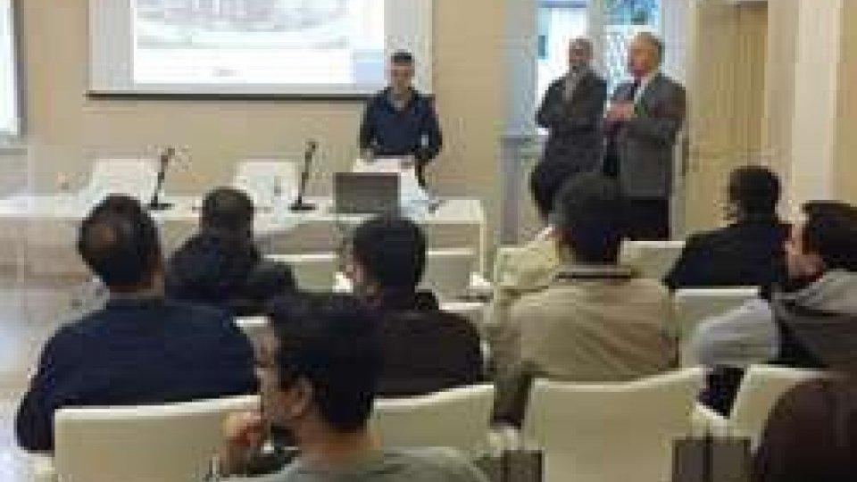 Delegazione turca a Villa Manzoni