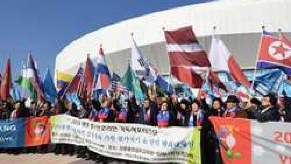 Coree insieme alle Olimpiadi