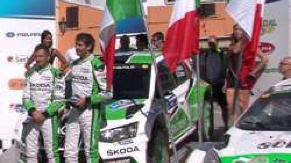 Rally San Marino: vince Umberto ScandolaRally San Marino: vince Umberto Scandola