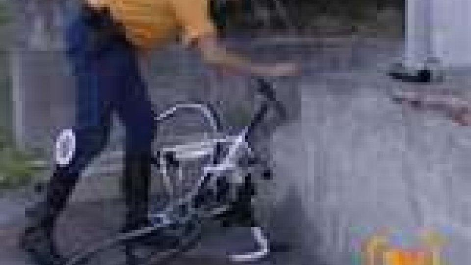 Incidente stradale questa mattina a San Marino. Ferito un ciclista di Pesaro