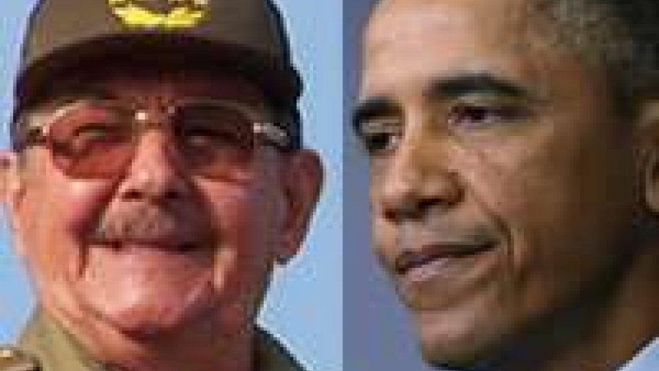 Svolta nei rapporti Usa-Cuba, Obama: togliere l'embargo
