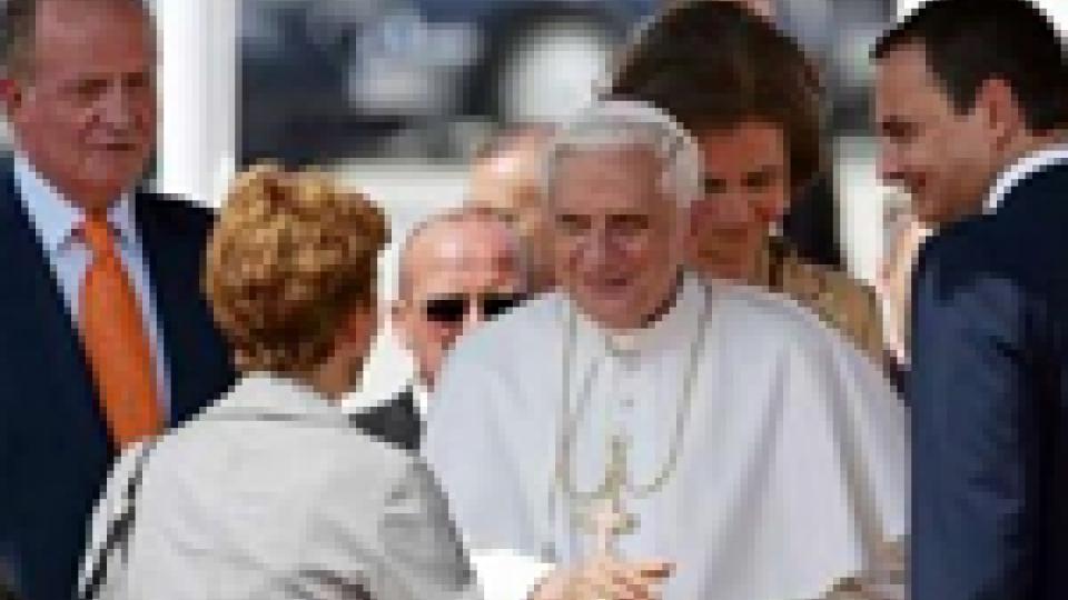 Il Papa incontra i giovani docenti universitari spagnoli