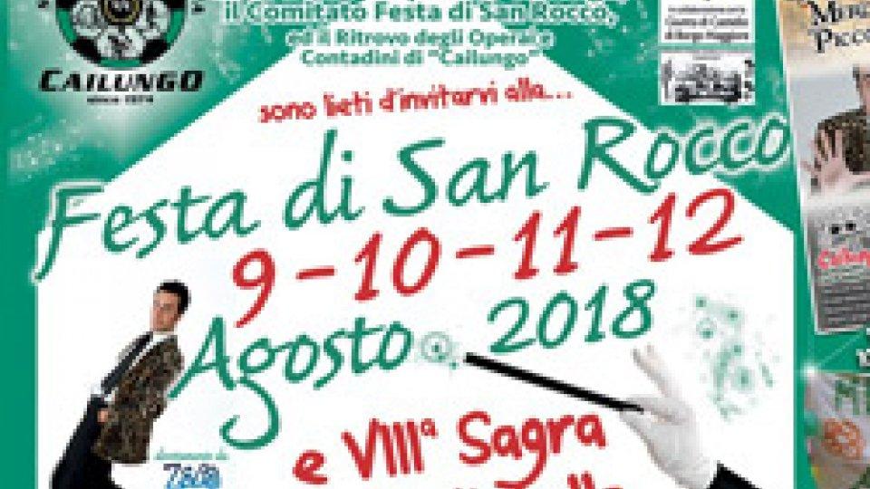 ASP Cailungo:  Festa di San Rocco - Cailungo