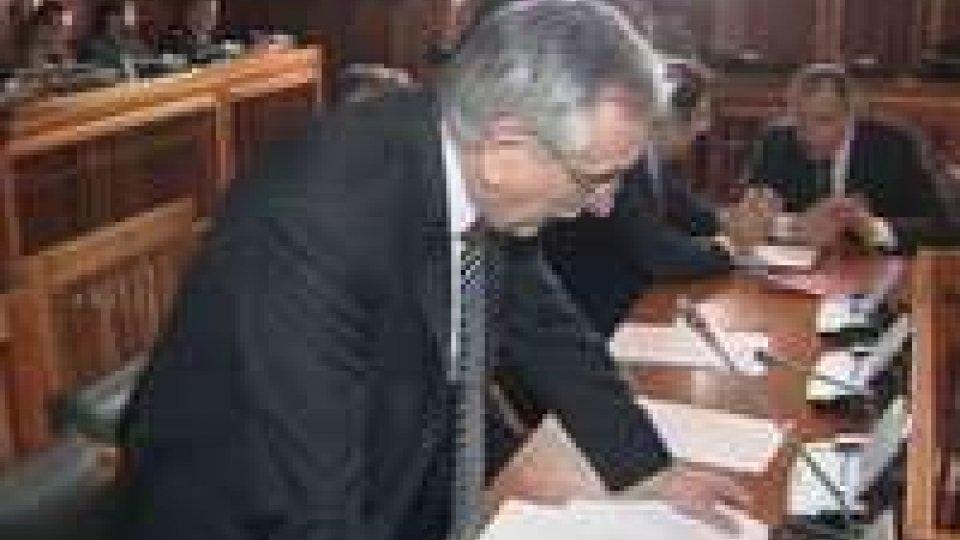 Il Segretario Valentini relaziona in aula sulla situazione in Ucraina