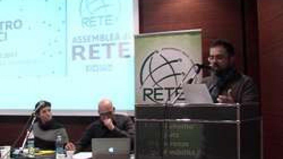 """Il discorso del nuovo segretario Andrea GianiAssemblea di Rete: """"Prime confluenze fra Dc e Ap"""""""