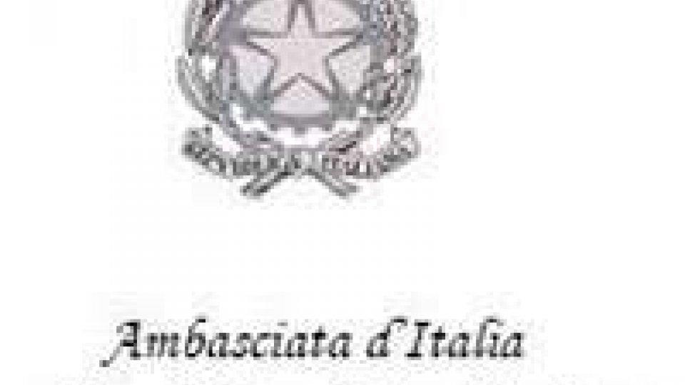 Ambasciata d'Italia: indette le elezioni per il rinnovo dei Comitati degli Italiani all'Estero