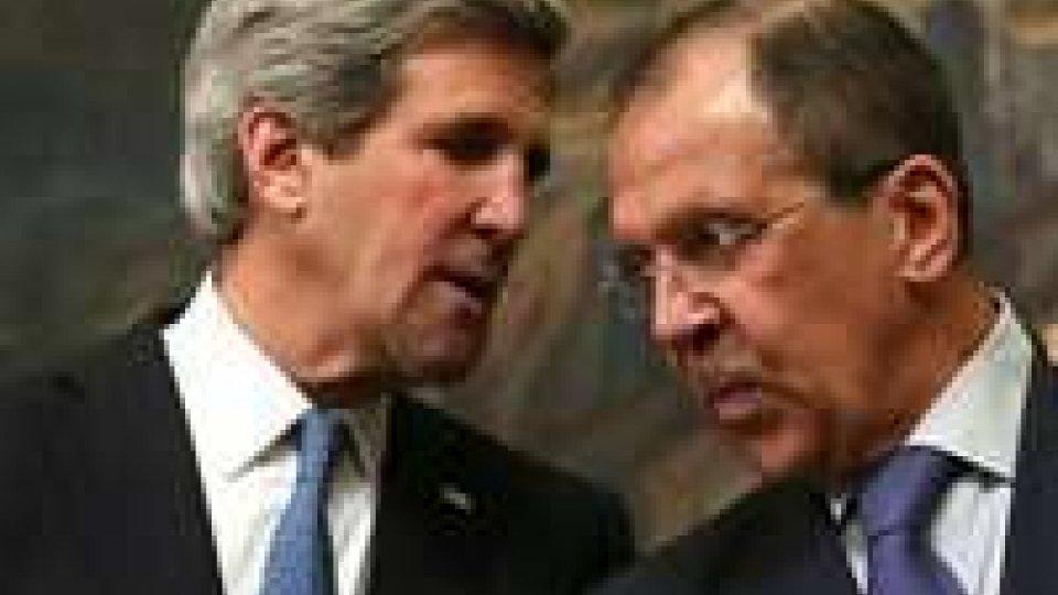 Armi chimiche siriane: c'è l'accordo Usa-Russia