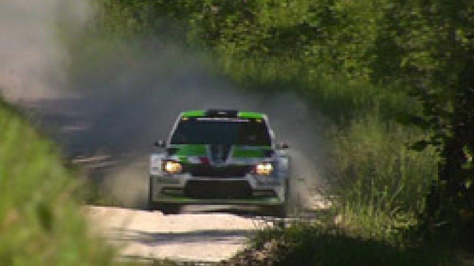 Rally dell'Adriatico: al comando il finlandese Lindholm, il migliore dei sammarinesi è Daniele Ceccoli