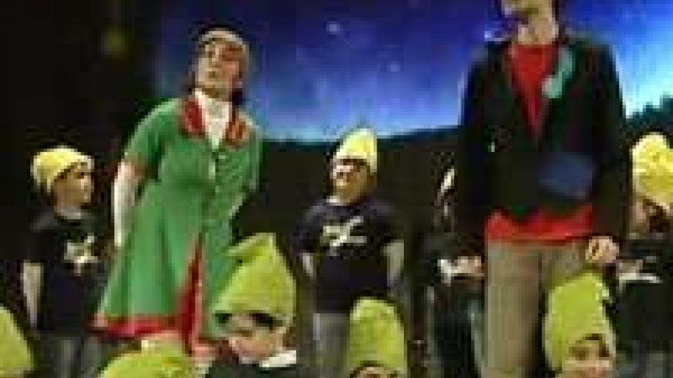Spettacolo di Natale per l'infanzia di Borgo e l'Istituto musicale al Concordia