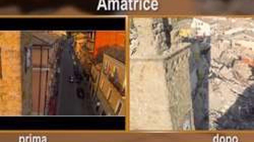 Prima e dopoI video di Amatrice a confronto, prima e dopo il terremoto