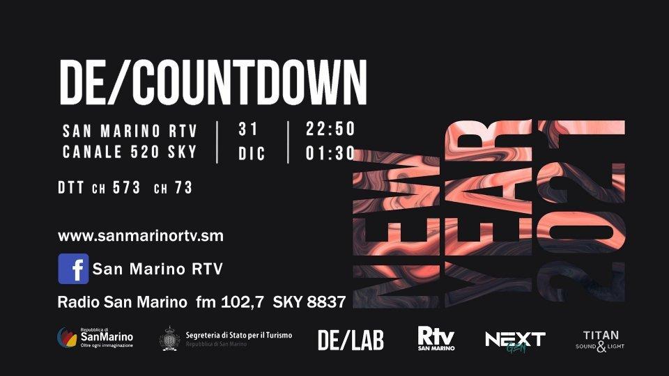 De/Countdown con De/Lab & Martin Minotti. Host Catia Demonte