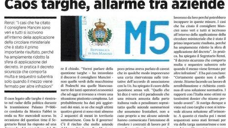 Repubblica.sm - Venerdì 29 Marzo 2019
