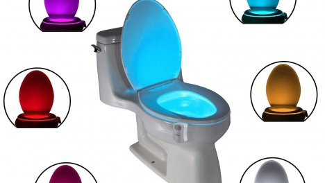 Led per tazza del WC