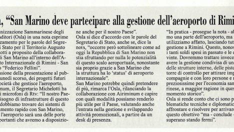 L'informazione - 18/04/2019