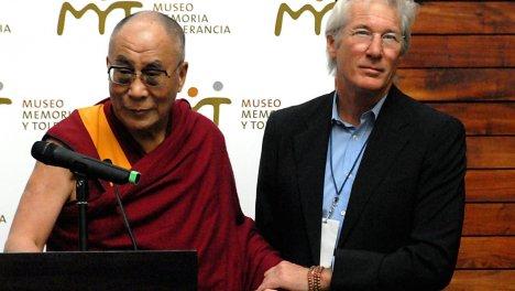 Con il Dalai Lama
