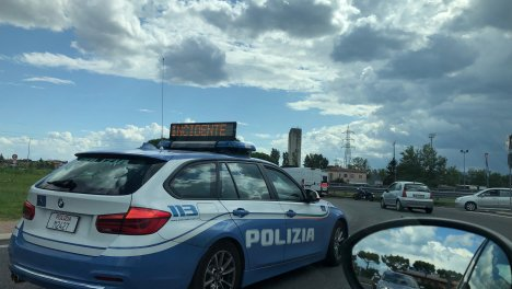 Incidente alla rotatoria