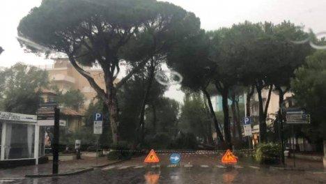Milano Marittima. Foto @EmiliaRomagnaMeteo