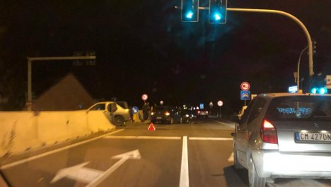 l'incidente a Cerasolo