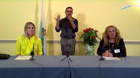 Il nuovo DG ISS Alessandra Bruschi e Stefania Stefanelli