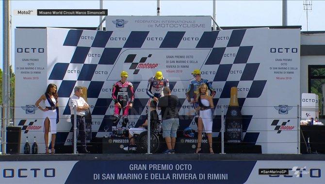 MotoGP: Marquez all'ultimo giro si impone su Quartararo