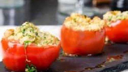 Pomodori Farciti alla Quinoa Aromatica