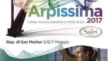 """Musica, """"Arpissima 2017"""" al Teatro Titano di San Marino"""