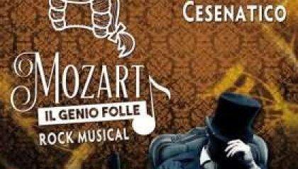 """Cesenatico, arriva a teatro il musical rock """"Mozart-Il Genio Folle"""""""