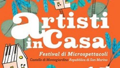 Artisti in Casa, Festival di Microspettacoli