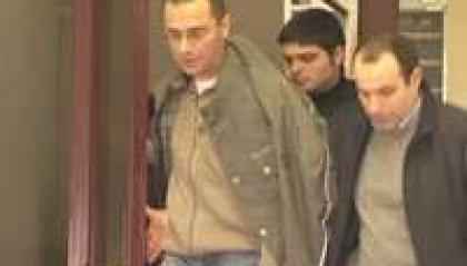 Estradato Marco Bianchini. Dopo le formalità di rito, è stato portato in carcere ai Casetti