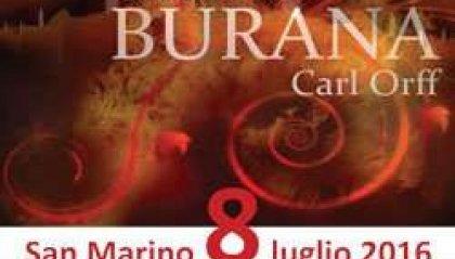 San Marino, i Carmina Burana alla Cava dei Balestrieri
