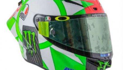MotoGP: sul casco di Valentino anche il Sic e il nostro Bryan