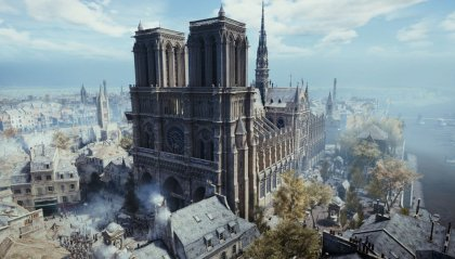 Ricostruire Notre Dame con Assassin's Creed