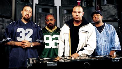 I Cypress-Hill nella Walk of Fame