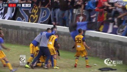 Finisce in pareggio il derby tutto toscano tra Carrarese e Pisa