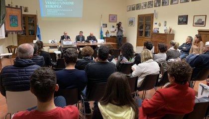 San Marino verso l'Unione europea: ieri la sesta serata pubblica nel Castello di Acquaviva