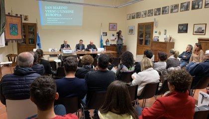 """""""San Marino verso l'Unione europea"""": il confronto prosegue ad Acquaviva"""
