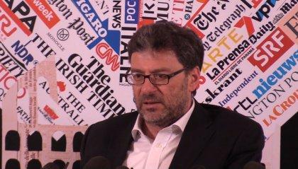 """""""Così non si può andare avanti"""": alla dichiarazione di Giorgetti replica Di Maio: """"Basta con le minacce di crisi"""""""