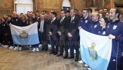 Piccoli Stati e Giochi Europei, le delegazioni di San Marino in udienza dai Reggenti