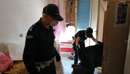 Viserba:  sgomberato l'ex albergo Aurum