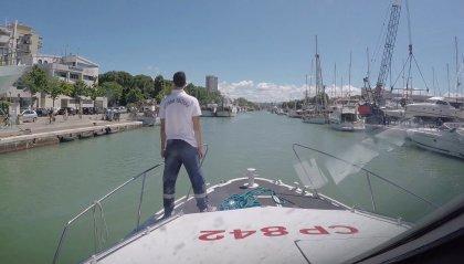 Sversano litri di gasolio nelle acque antistanti il porto di Rimini, denunciate due persone dalla Capitaneria di Porto