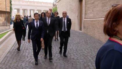 I Capitani Reggenti in Vaticano per l'udienza del Papa