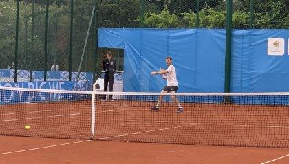 Tennis: Stefano Galvani si presenta in ottima forma 6-1 6-1