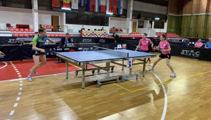 Tennis Tavolo: donne d'argento dopo 10 anni. Giardi-Morri-Chimei salgono sul secondo gradino del podio