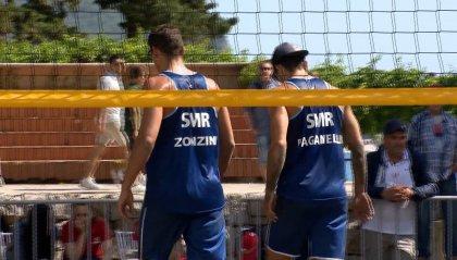 Giochi: termina senza squilli il torneo di Beach Volley per il duo sammarinese Paganelli-Zonzini che chiudono al 7° posto