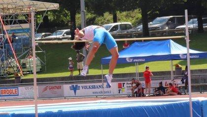 Giochi: nel salto in alto Matteo Mosconi sfiora il bronzo