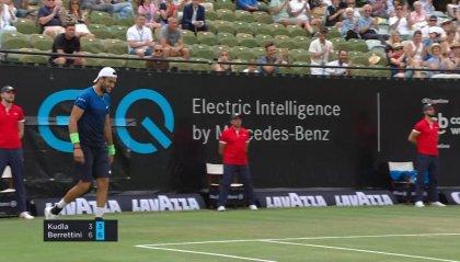 ATP 250 Stoccarda: Matteo Berrettini in semifinale con il tedesco Struff