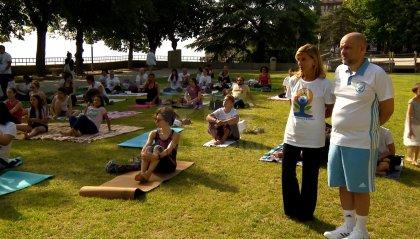 India e Yoga al campo Bruno Reffi