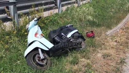 Rimini: scooter si schianta sulla via Emilia, grave 26enne