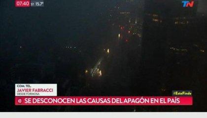 Maxi black out in Argentina e Uruguay: 48 milioni di persone senza elettricità